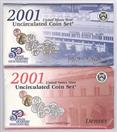 UNITED STATES Mint Set 2001 UNCIRCULATED COIN SET